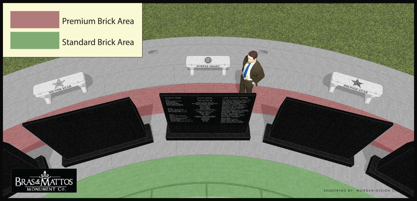 Order Brick Paver - Castro Valley Veterans Memorial